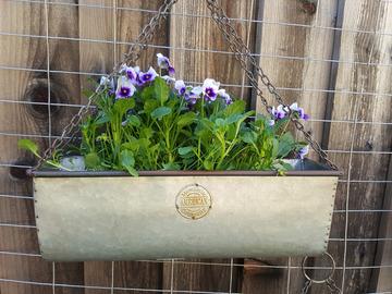 Selling: American Mercentile Metal Planter Box (Small)