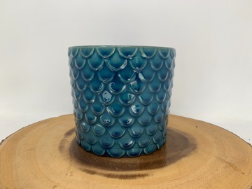 Selling: Blue fish scale pot
